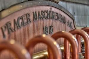 Hier sehen wir einen Kessel wie er in einer Bier Brauerei genutzt wird