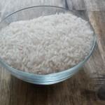 Eine volle Schale Reis