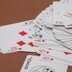Kartenspiel zum Farbensaufen