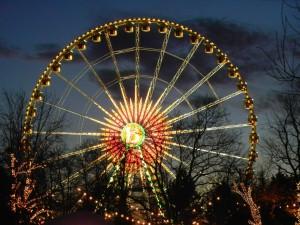 Riesenrad auf dem Heinerfest in Darmstadt
